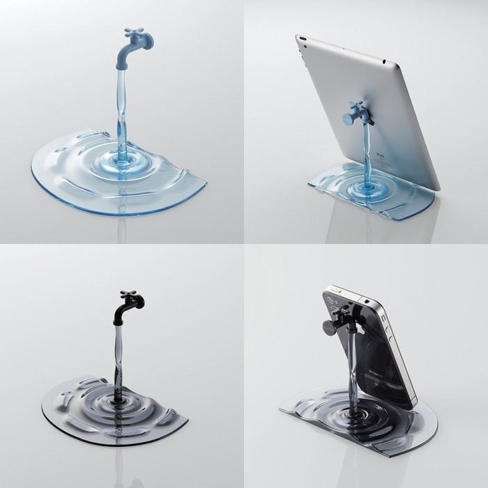 Tap Water iPhone/iPad Stand