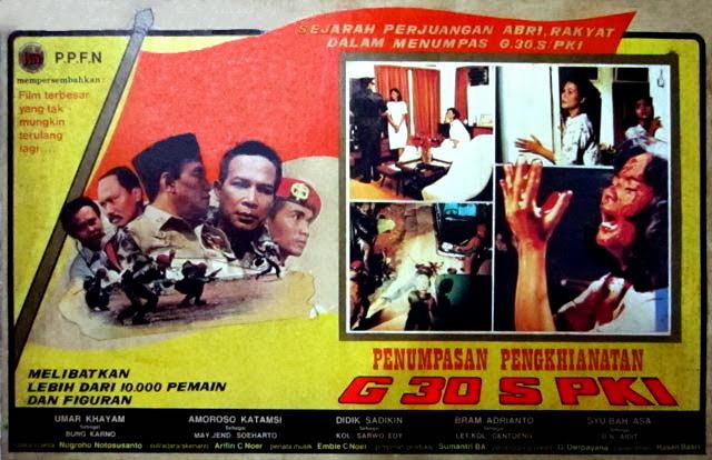 Cover Film Penumpasan Pengkhianatan G 30 S PKI