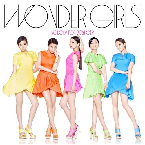 [Single] Wonder Girls - Nobody For Everybody [Japanese]