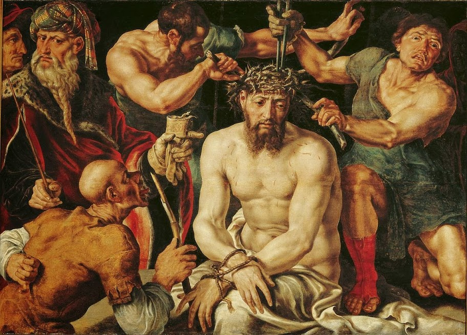 Maarten van Heemskerck - Christ crowned with thorns