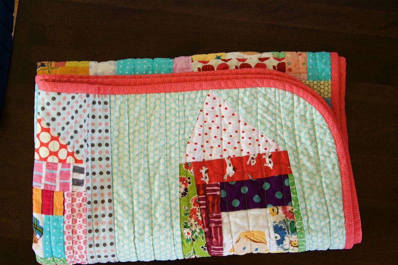 a quilt is nice: rounded quilt corners tutorial : quilt corner binding - Adamdwight.com