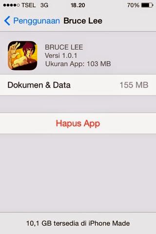 Cara Menghapus Atau Uninstall Aplikasi iOS di Iphone