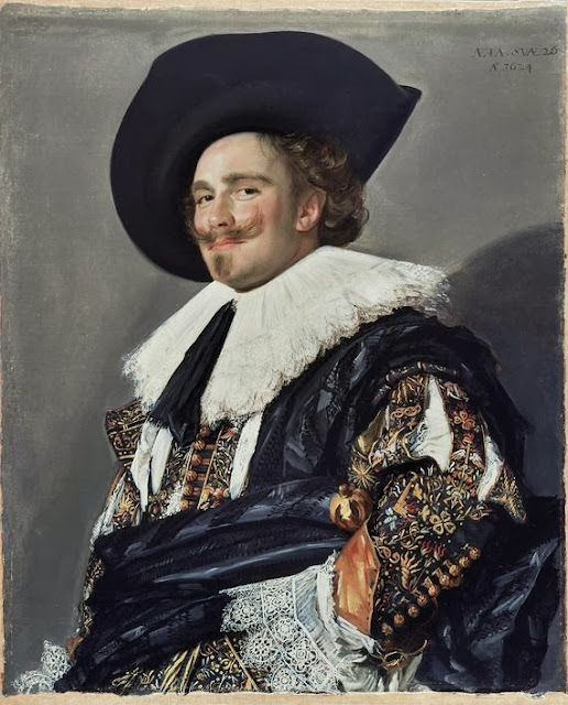 Frans Hals - The Laughing Cavalier (1624)