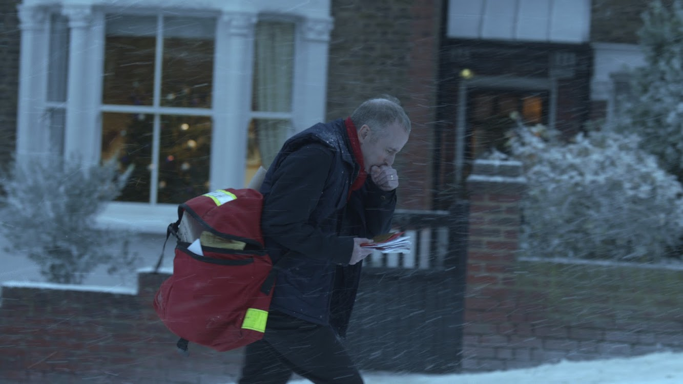 McDonald's Postman Christmas Advert