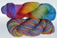 Poetry on Licorice Twist Worsted/DK - Trim Option & Penny Ship