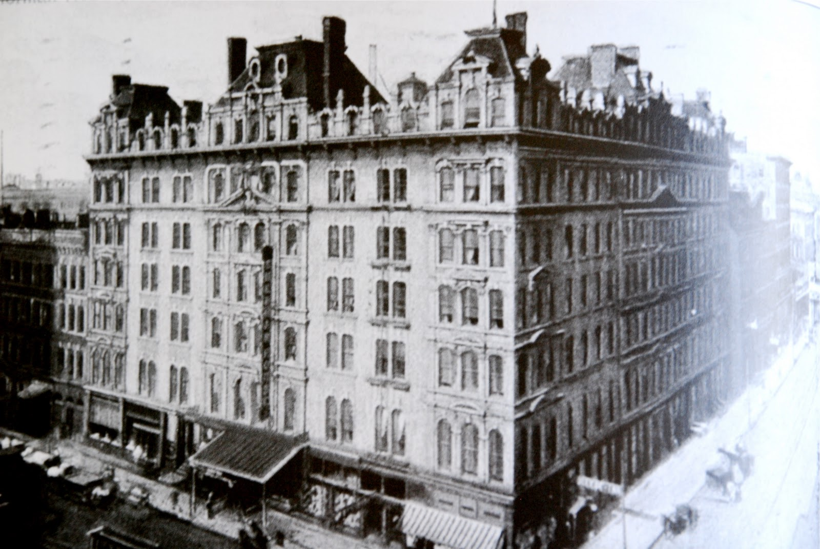 The Second Sherman House 1873 Photo From Early Chicago Hotels Host And Portman