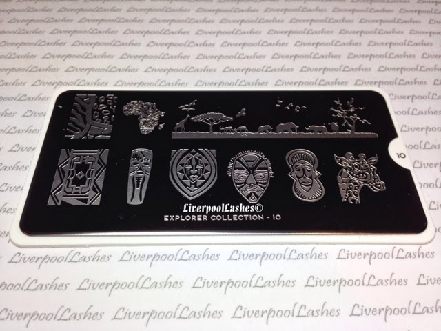 moyou london nail stamping image plates konad explorer collection 10
