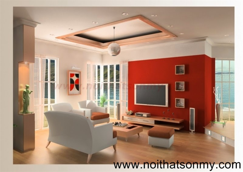 Mẫu thiết kế nội thất phòng khách 333