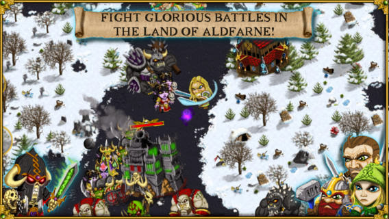 Warlords RTS v1.010 for iPhone/iPad