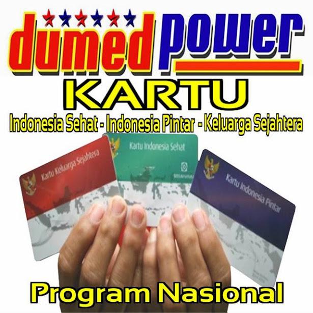 Presiden Jokowi luncurkan 3 kartu ampuh - Kartu Indonesia Sehat dan Pintar Serta Kartu Keluarga Sejahtera
