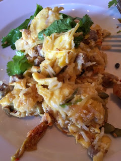 duck egg scramble