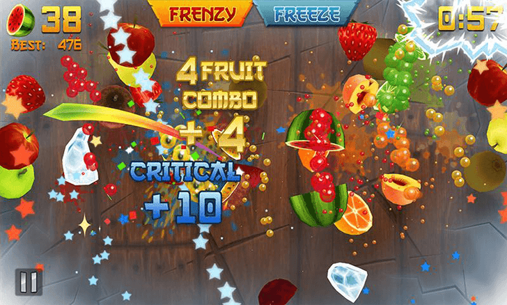Fruit Ninja App voor Android, iPhone en iPad