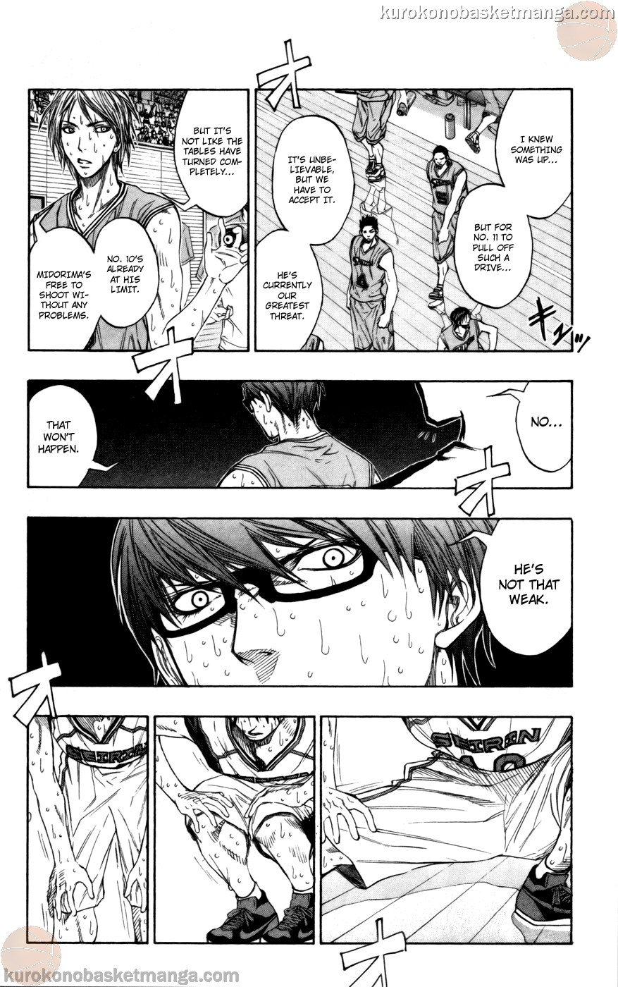 Kuroko no Basket Manga Chapter 91 - Image 02