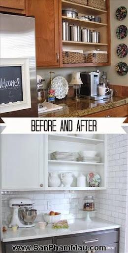 4 phòng bếp tuyệt đẹp chỉ nhờ thay đổi màu sơn-3