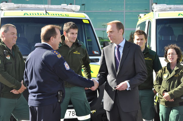 simon corbell and ambulances