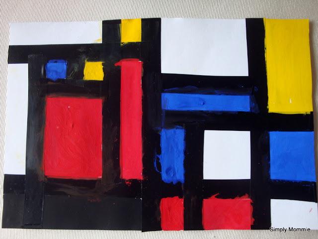 Piet Mondrian kids