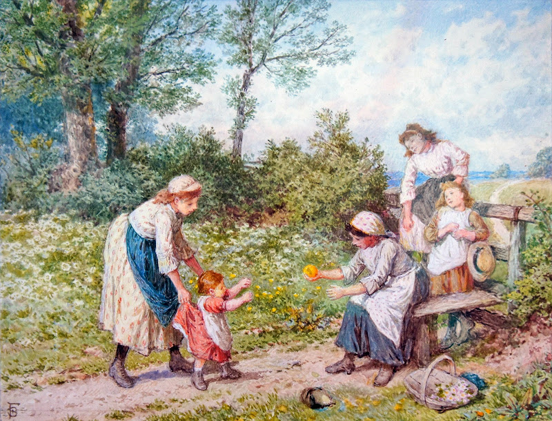 Myles Birket Foster - First Steps