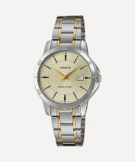 Jam Tangan Wanita Untuk Kulit Langsat Casio Standard : LTP-E115GBL-2AV