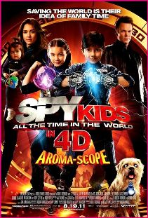 Spy Kids: All The Time In The World 4D Poster