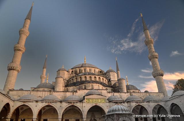 Мечеть Султана Ахмета в Стамбуле