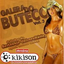 Baixar cd Mp3 Galera do buteco Volume 3