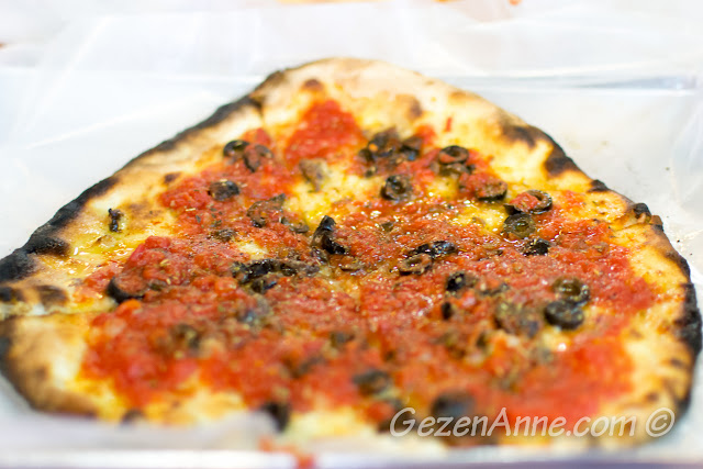 marinara pizza, Da Franco Sorrento
