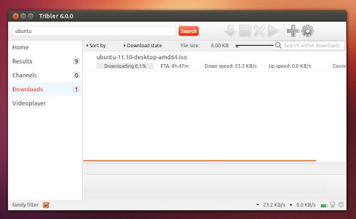 Tribler 6.0.0 su Ubuntu