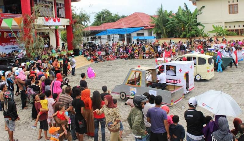 karnaval anak majene 2013 gedung assamalewuang