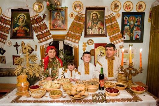ceia de Natal ucraniana de doze pratos