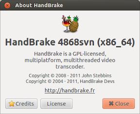 De DVD a mp4 o mkv con Handbrake en Ubuntu