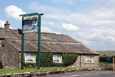 Fat Lamb pub in the Eden Valley in Cumbria England