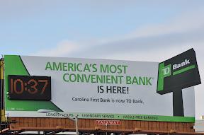 TD Bank Billboard