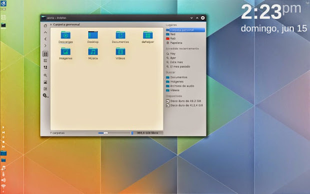 kaos KaOS: una distribución Linux liviana con KDE
