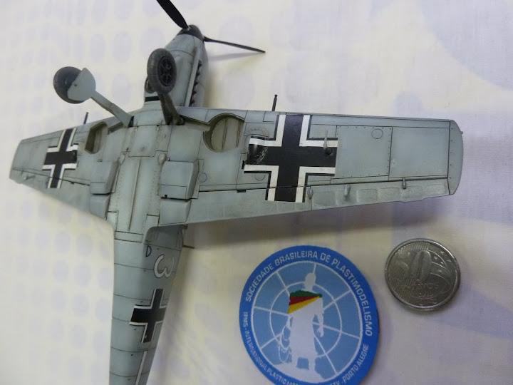 Bf-109 E-3 Tamiya 1/48 - Reforma pintura P1020661