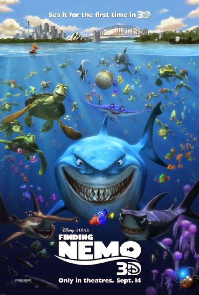 Poster Of Finding Nemo (2003) Full Movie Hindi Dubbed Free Download Watch Online At alldownloads4u.com