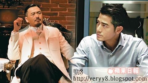 周潤發拍《寒戰2》 惡鬥郭富城