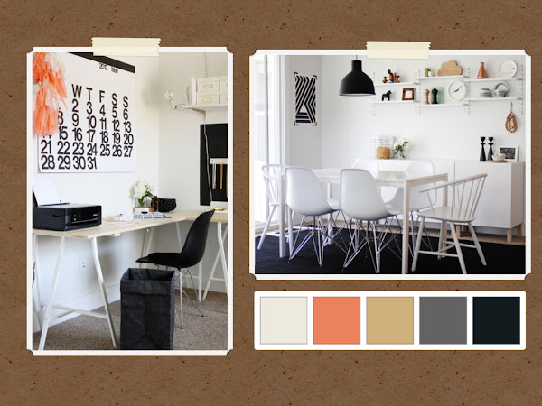 Interior Design Dining Room and Office