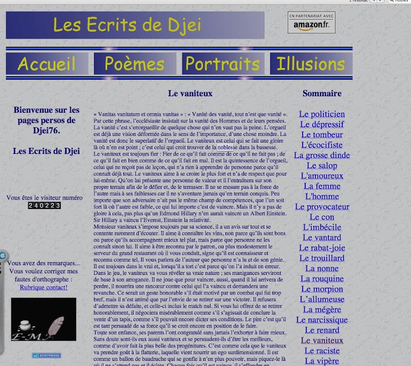 port d'arme - Page 2 Vaniteux