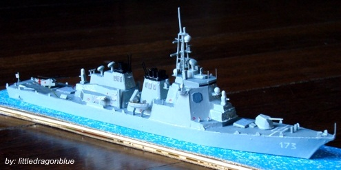Contratorpedeiros - JDS Kongo DDG173