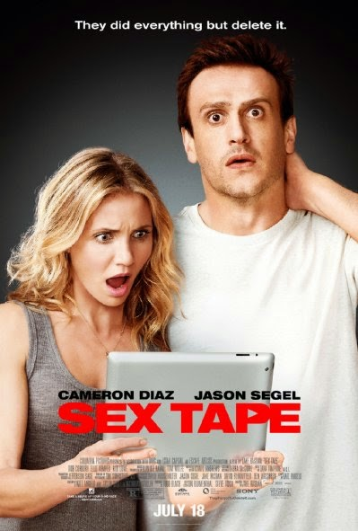 Poster Of English Movie Sex Tape (2014) Free Download Full New Hollywood Movie Watch Online At Alldownloads4u.Com