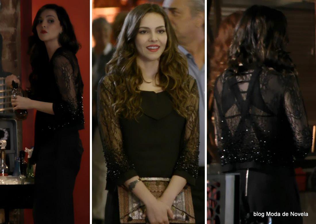 moda da novela Em Família - look da Marina dia 19 de maio