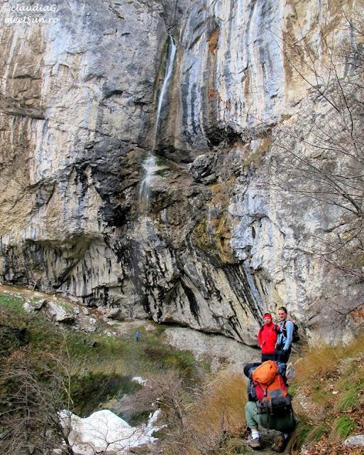 cascada in Muntii Cernei