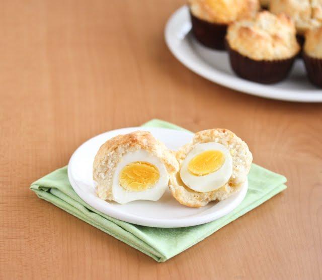 photo of breakfast surprise muffins