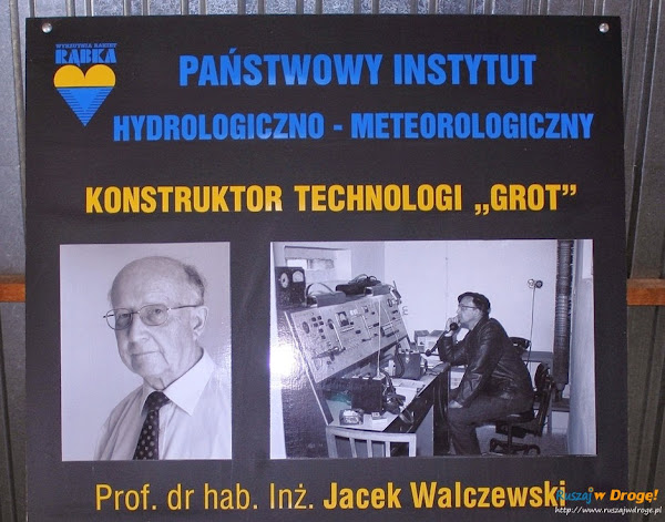 Jacek Walczewski - konstruktor technologi GROT METEOR