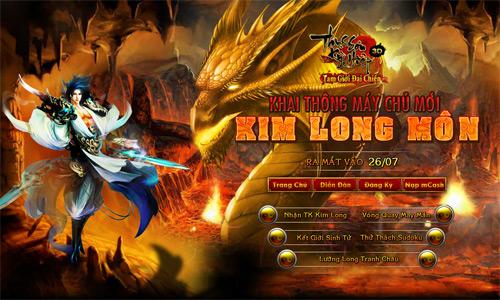 Thục Sơn Kỳ Hiệp ra mắt máy chủ mới Kim Long Môn 2