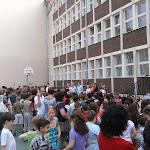 Utolsó iskolagyűlés a nyári szünet előtt