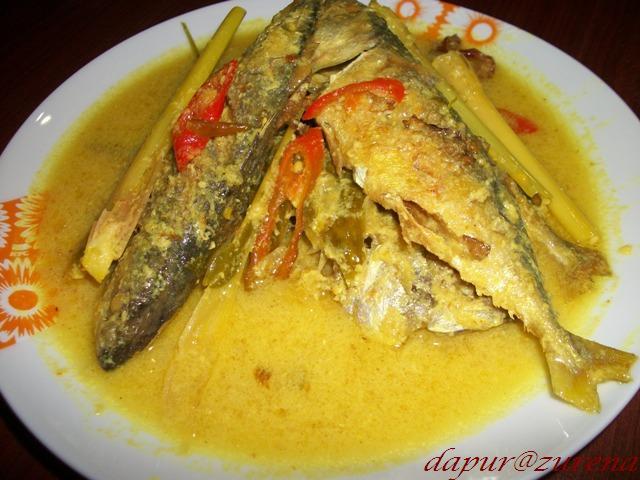 Dari Dapur Zurena: Masak Lemak Cili Api Ikan Kembung