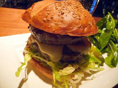 The Metrovino double cheeseburger