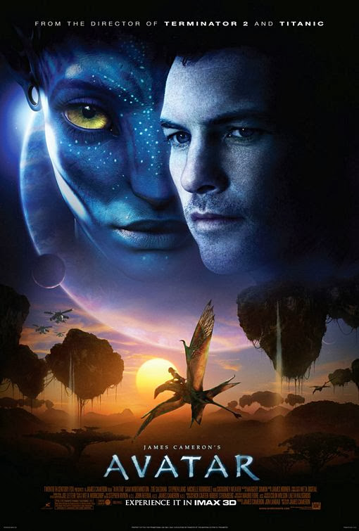 Poster Of Avatar (2009) Full Movie Hindi Dubbed Free Download Watch Online At Alldownloads4u.Com