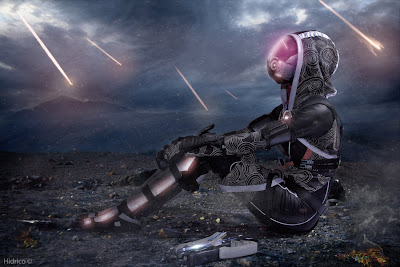 Amazing cosplay of Tali'Zorah from Mass Effect by Nebulaluben